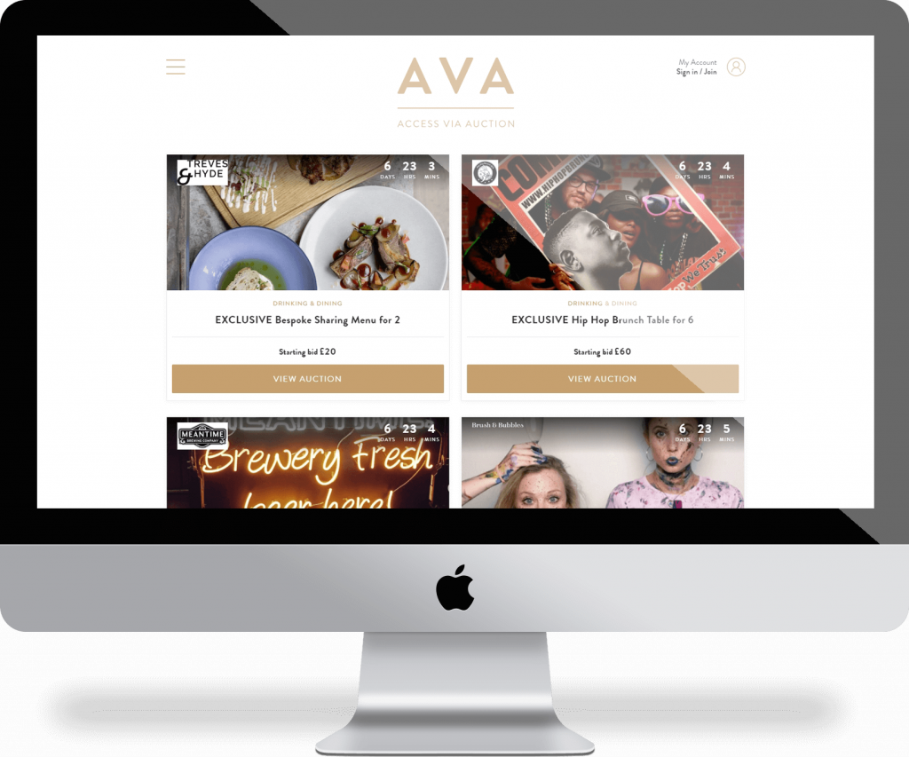 AVA Experience | Michael Palmer Responsive Web Design