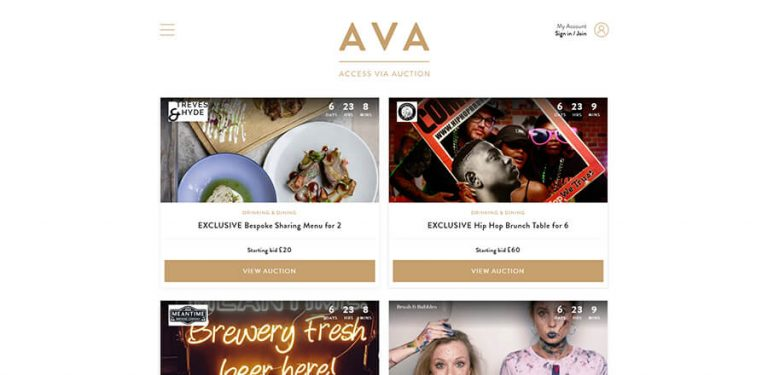 Start Ups - Web Design & Development | AVA Experience
