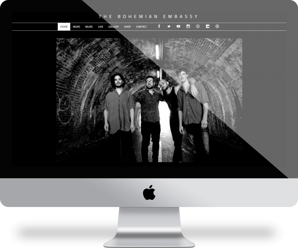 The Bohemian Embassy - Children's Author | Michael Palmer Responsive Web Design