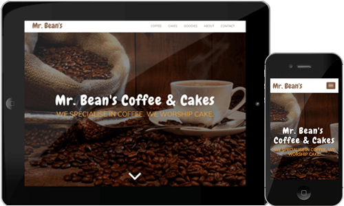 Coffee Shop HTML Template